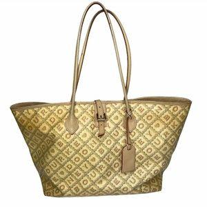 """Dooney & Bourke """"crossword"""" East/West bucket bag"""